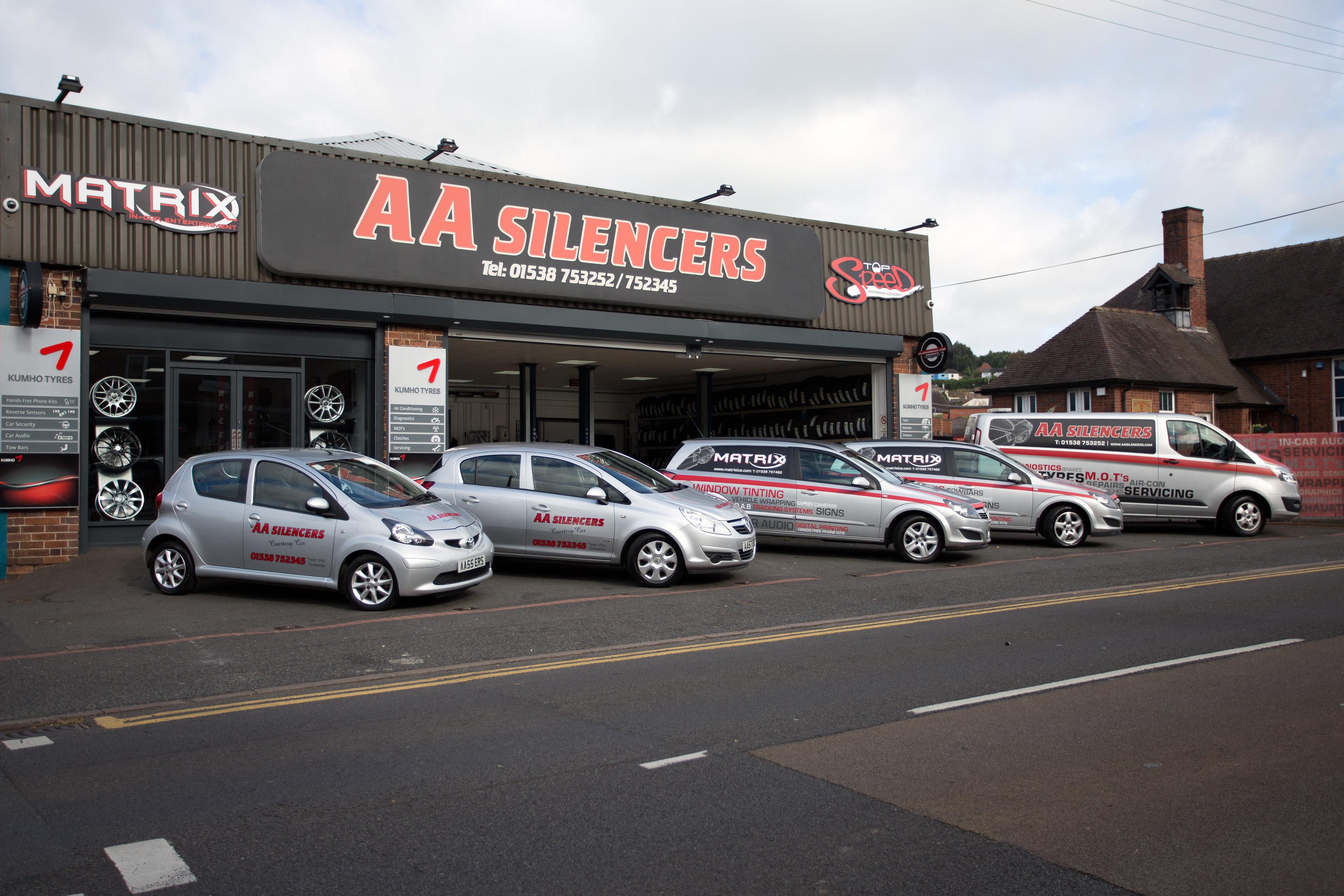 AA Silencers Ltd