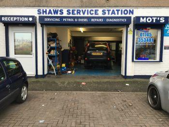 Shaws Service Station