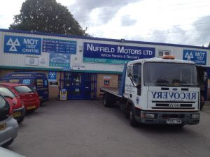 Nuffield Motors Ltd - Mot Test Station