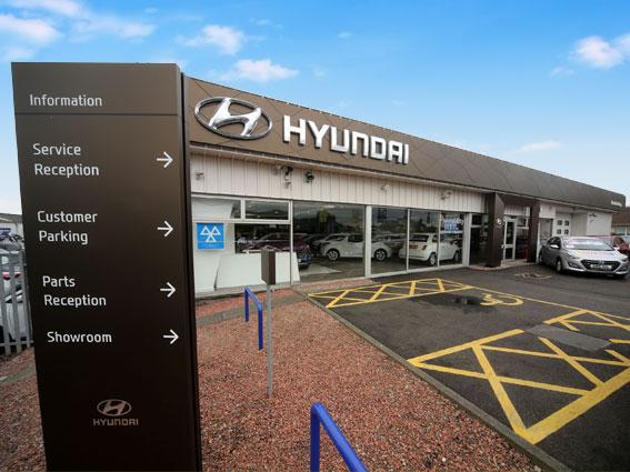 Macklin Motors Edinburgh West Hyundai