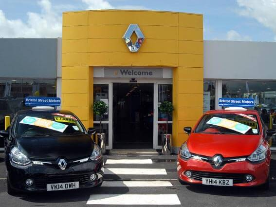 Bristol Street Motors Exeter Renault