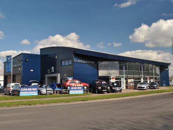 Bristol Street Motors Harlow Peugeot